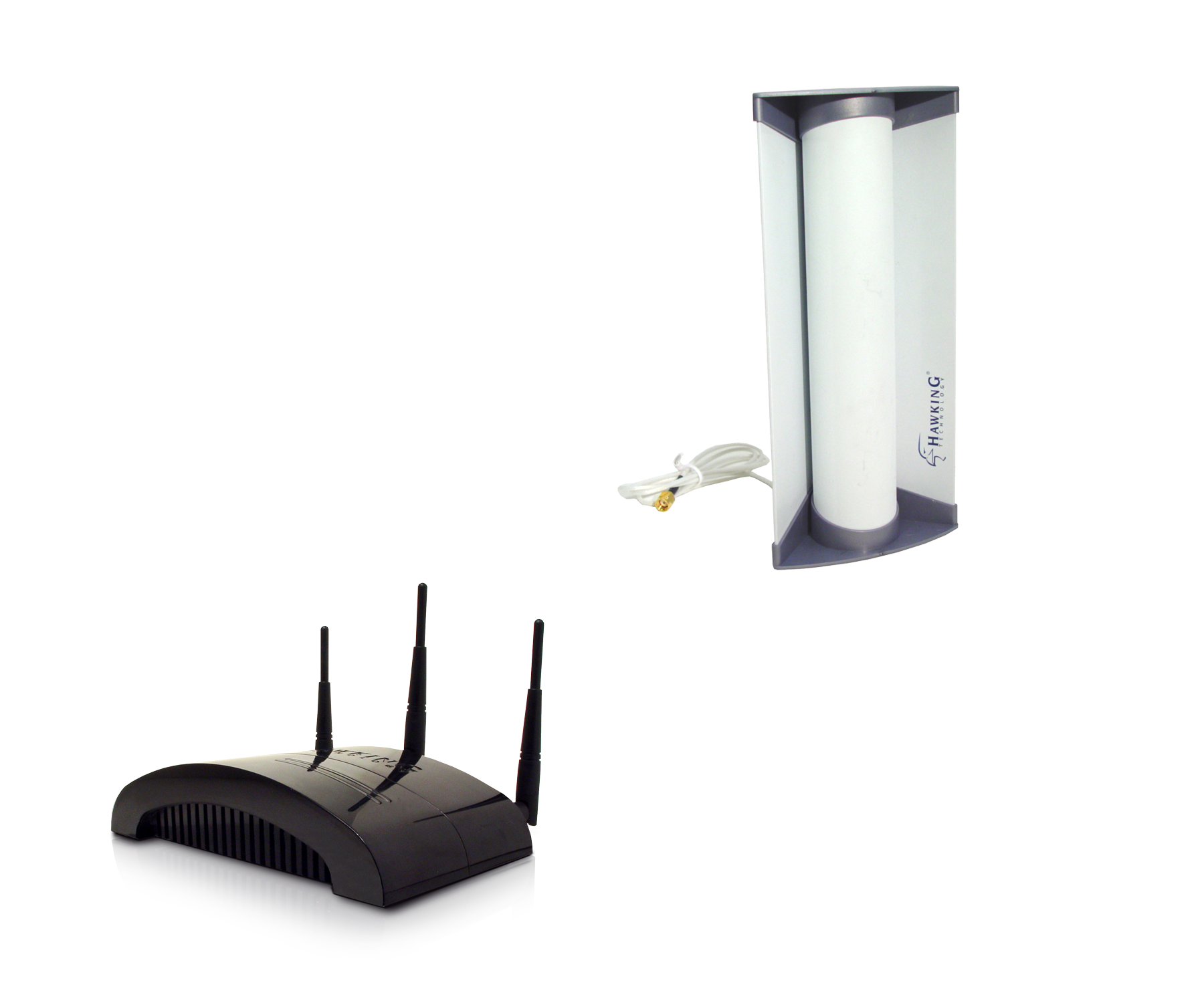 Smart Repeater III: Long Range Indoor Repeater HW2R1+HAI15SC