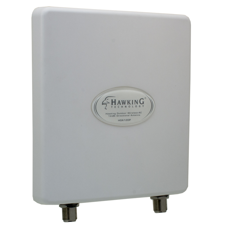 Outdoor WiFi-AC Dual-Band 12dBi Directional Antenna (HOA12DP)