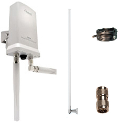 Campground RV, Marina WiFi AP Kit(HOWABN1+HAO15SIP+HONRA+HAC10N)