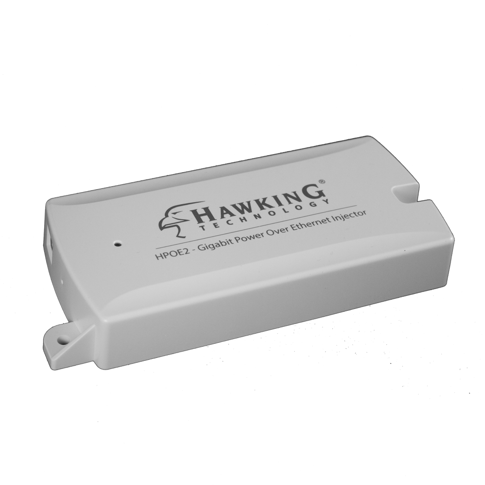 HPOE2 Gigabit Power-Over-Ethernet (PoE) Injector Kit